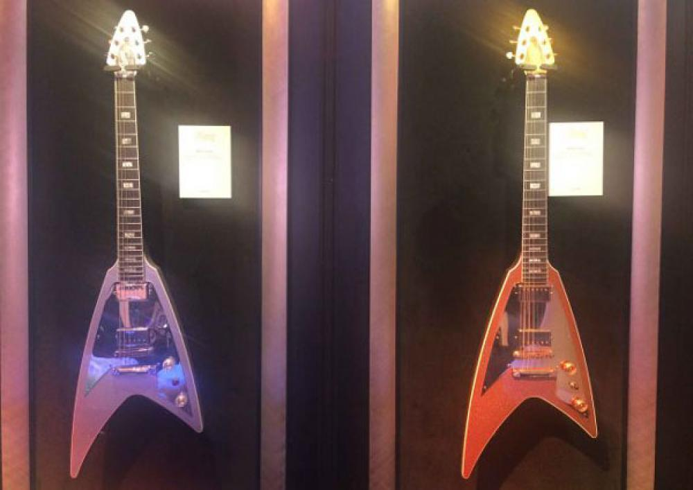 Gibson Modern Flying V avvistata al CES 2018