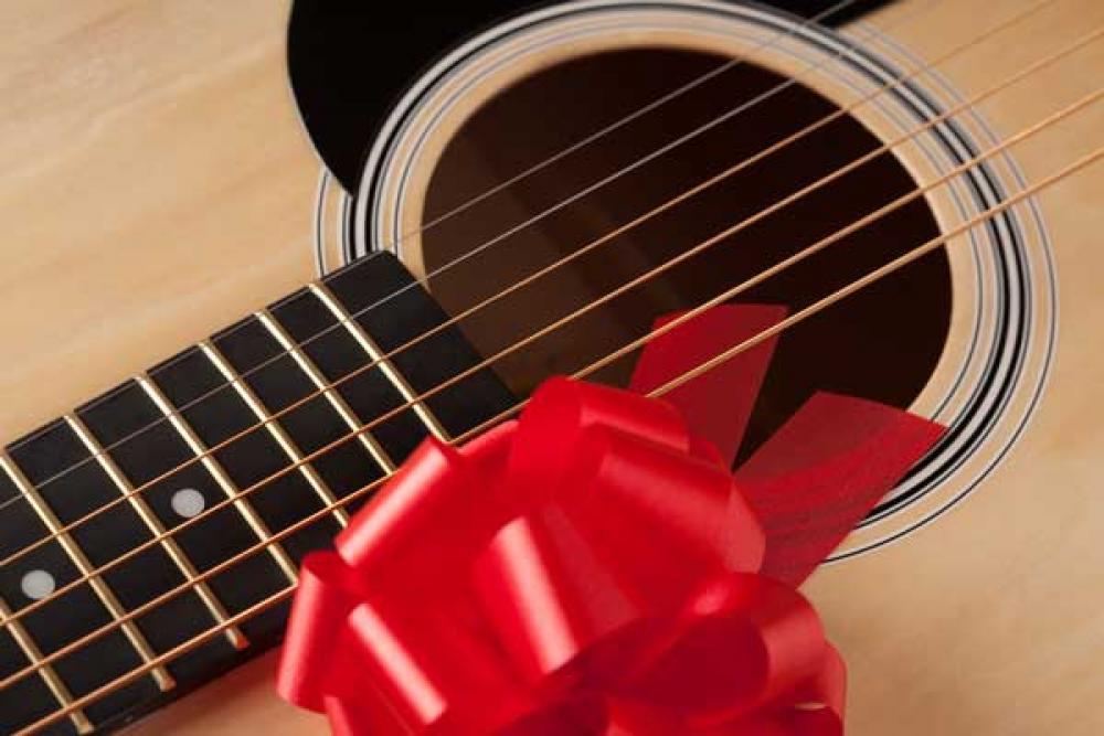Idee regalo last minute da fare a un chitarrista