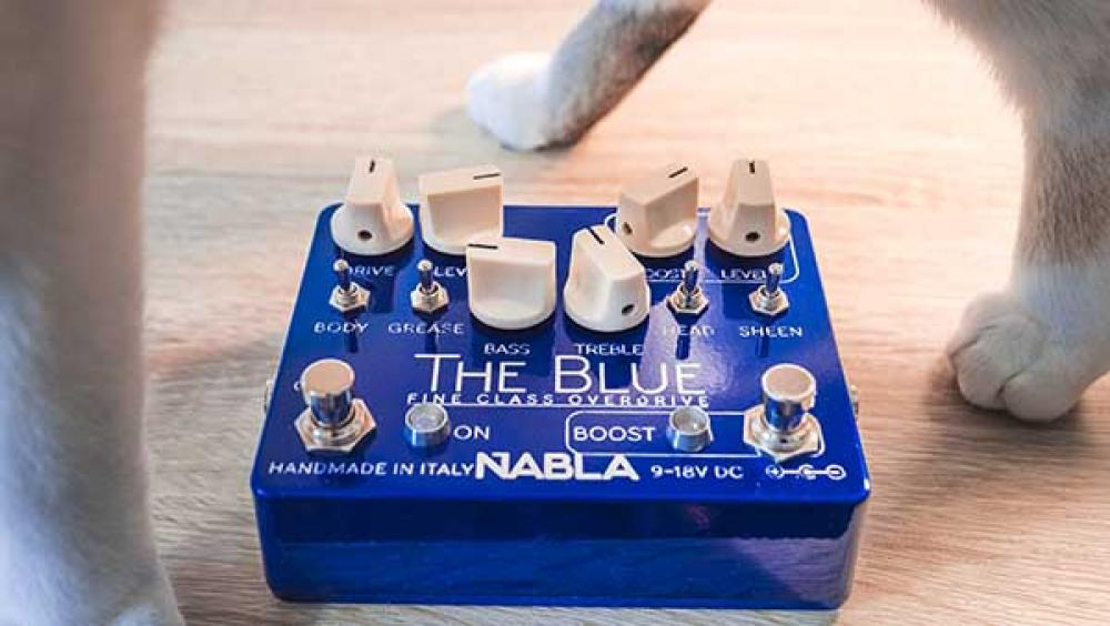 Nabla The Blue: la dinamica in un overdrive