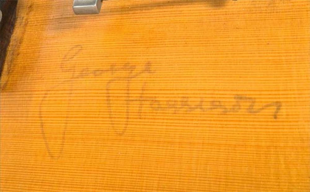 La prima elettrica di George Harrison all'asta per cifre record