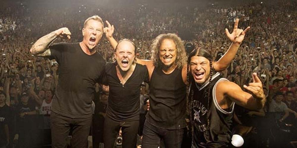 Tribute Band derubata: i Metallica gli ricomprano la strumentazione