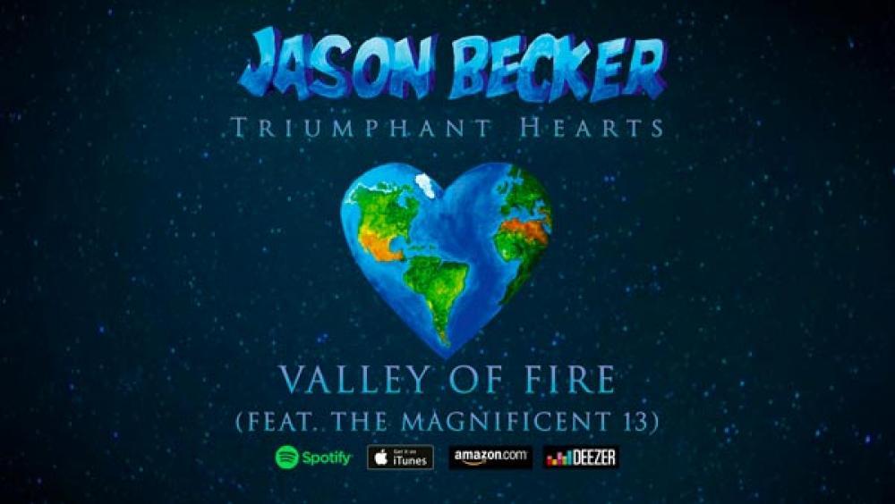 Online il video di Valley Of Fire di Jason Becker