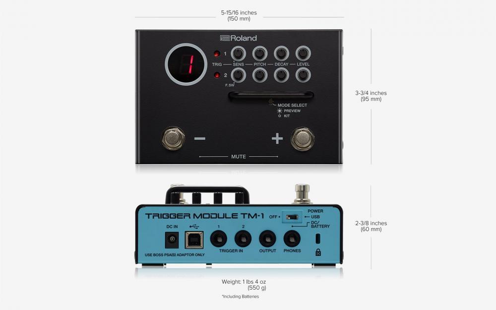 Roland Tm-1: praticità e modernità