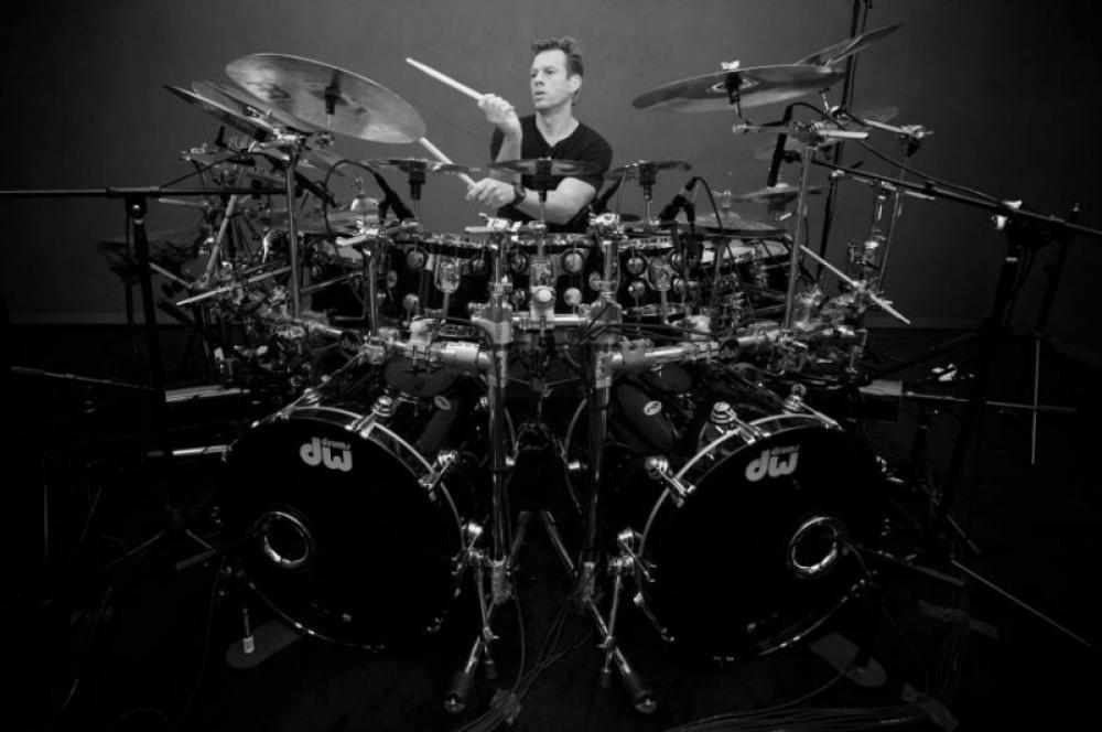 Thomas Lang ci racconta il suo setup nel tour con Paul Gilbert
