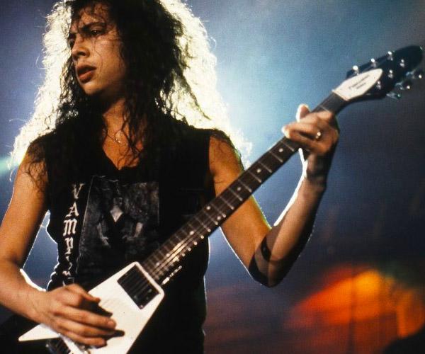 Kirk Hammett diventa endorser Gibson