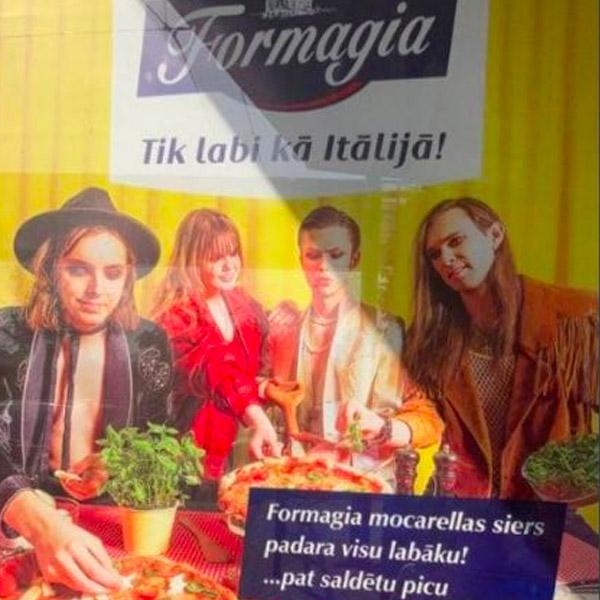 I sosia dei Måneskin su un cartellone in Lettonia? Significa più di quanto sembri