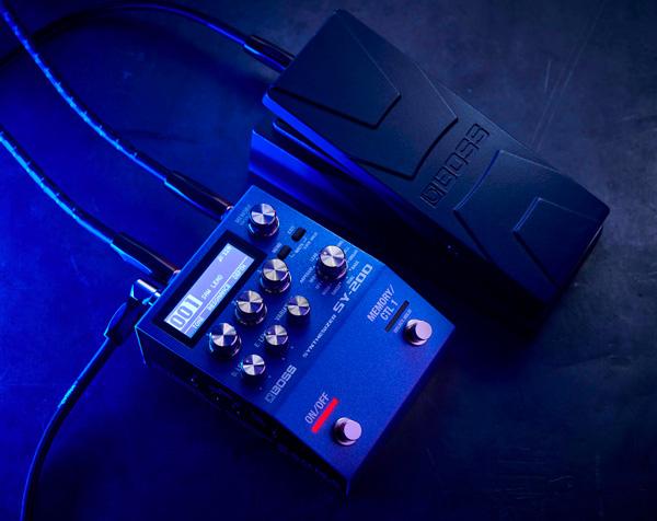 SY-200: il guitar-synth BOSS potente e compatto