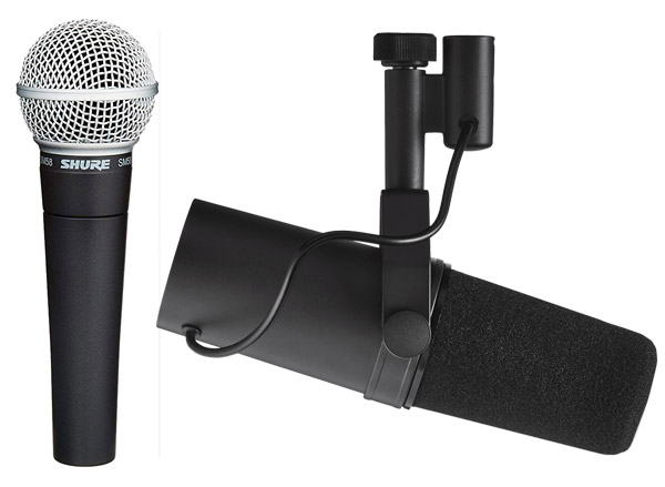 Microfonare la voce? Quando e perché scegliere dinamico o condensatore