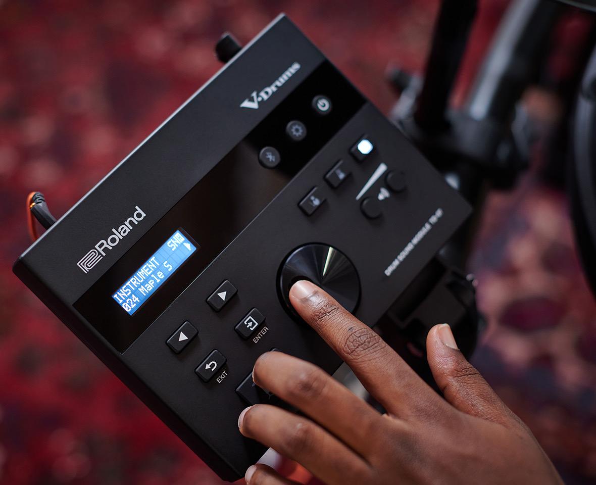 Tre nuove Roland TD-07: suono, sensibilità e stabilità