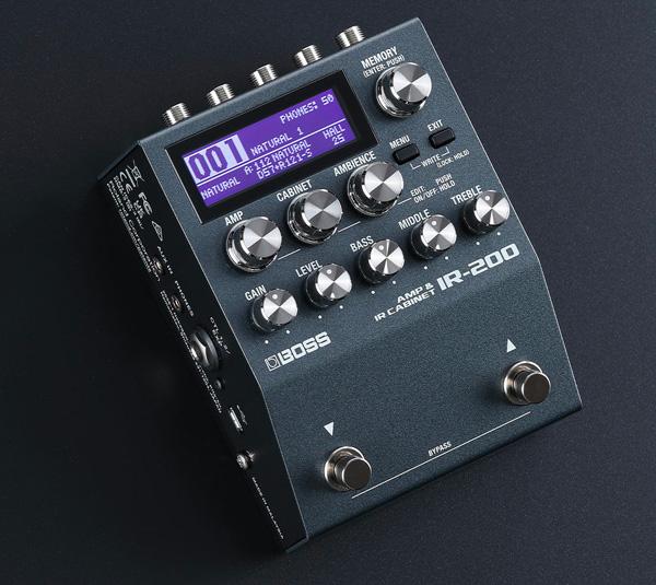 IR-200: Amp Sim e IR compatti da BOSS