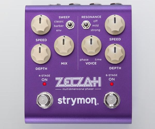 Strymon Zelzah: phaser multidimensionale