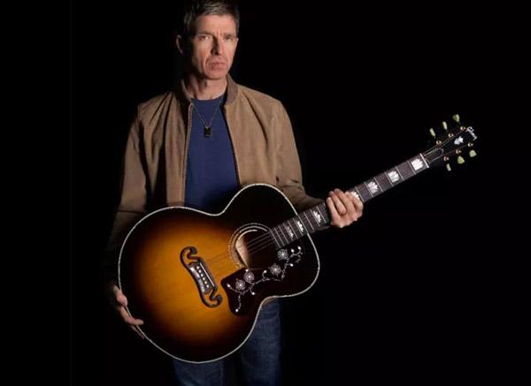 La Gibson J-150 di Noel Gallagher diventa limited edition: il video