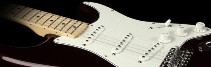 Interspazi neck e body su Fender Stratocaster