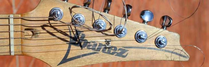 La chitarra di Andy Timmons