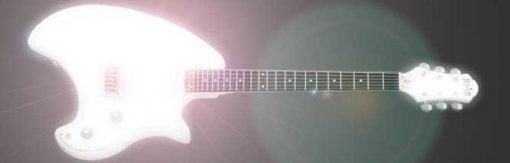 Scurire il suono di una chitarra elettrica