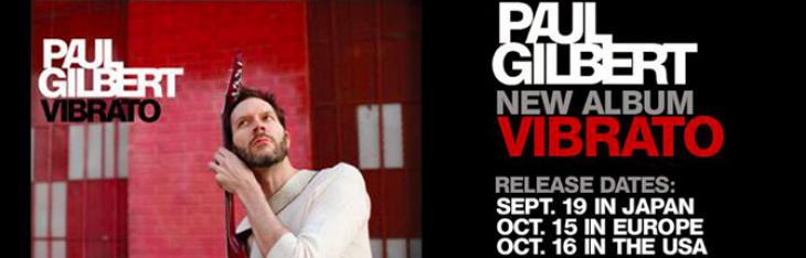 Paul Gilbert: nuovo gear per Vibrato