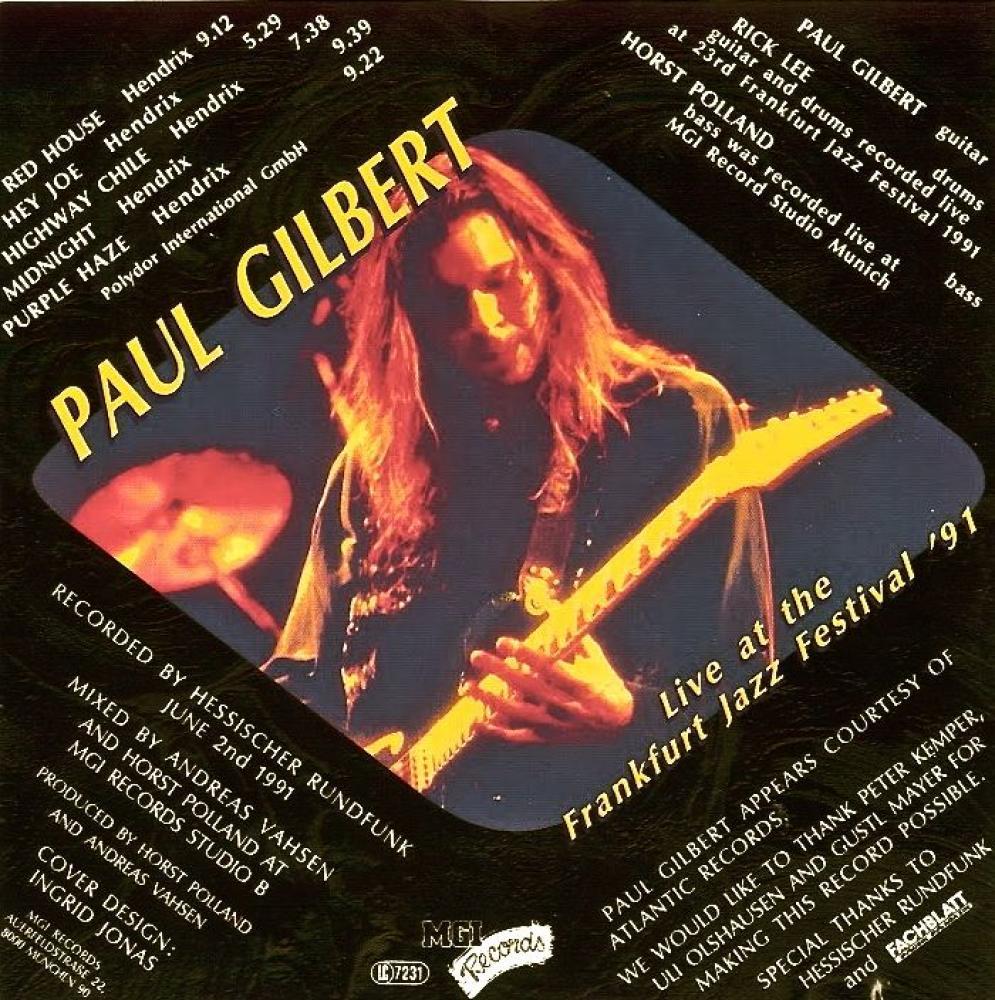 Tribute to Jimi Hendrix - Paul Gilbert