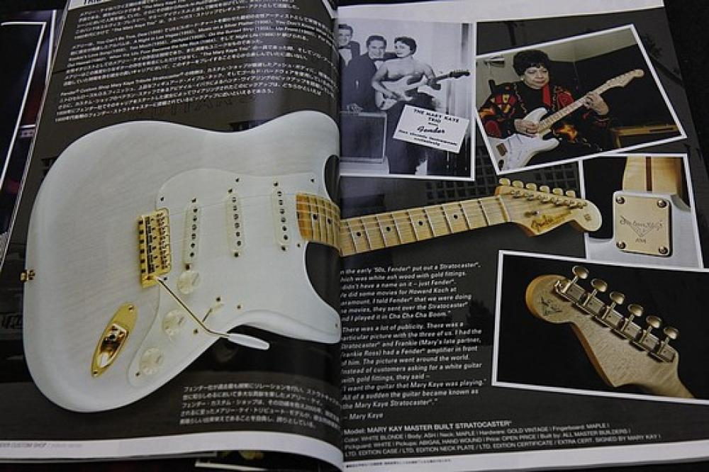 Fender Stratocaster Cunetto Mary Kaye