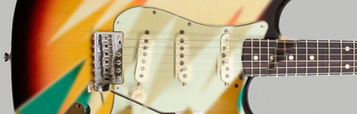 Confronto Strat dal 1969 al Custom Shop