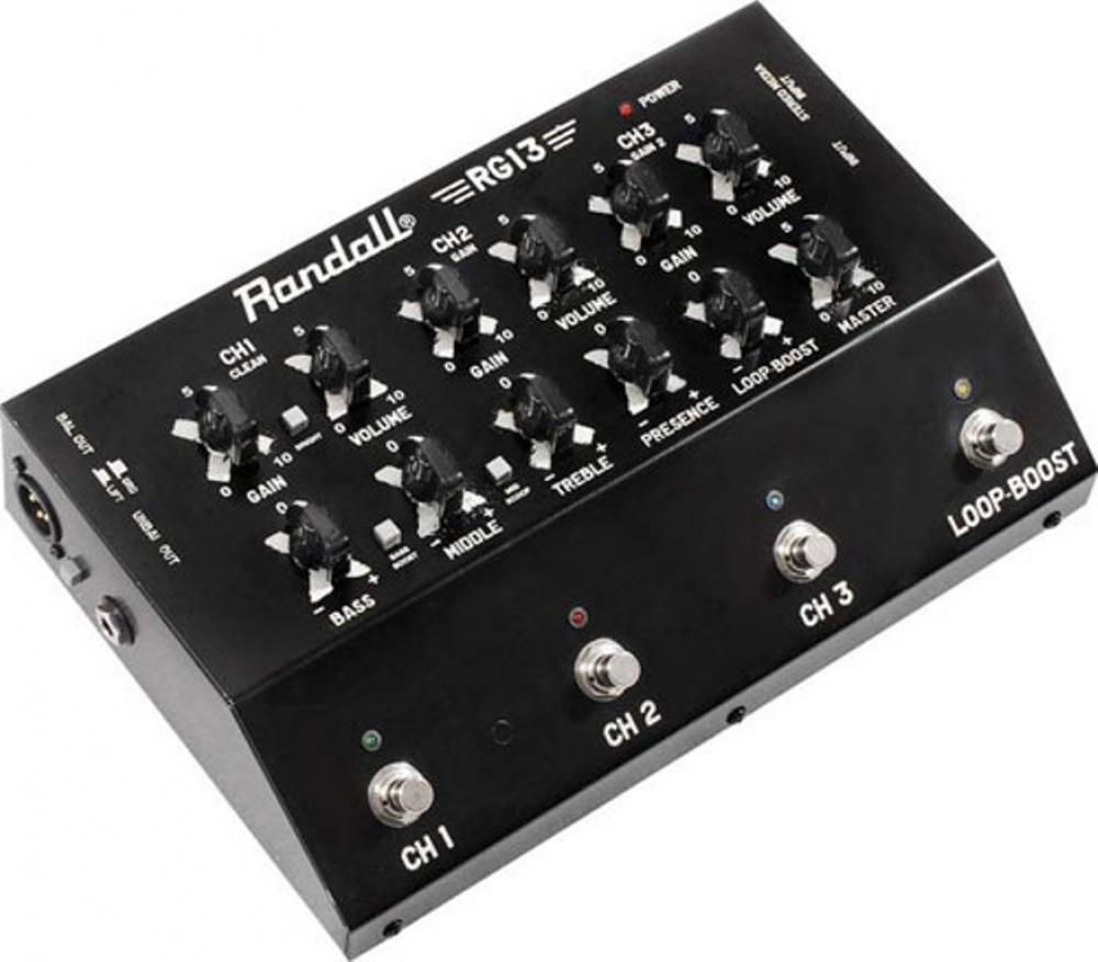 Randall RG13 stomp head
