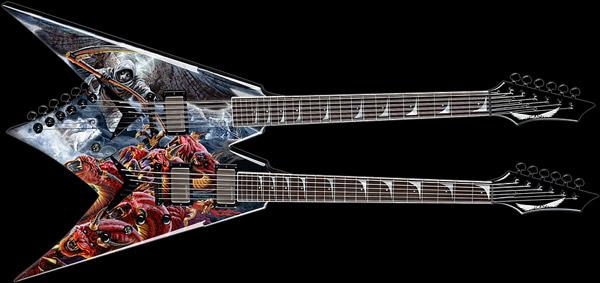 Dean Dave Mustaine VMNT Double Neck