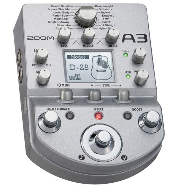 Zoom A3: anche l'acustica vuole la sua parte
