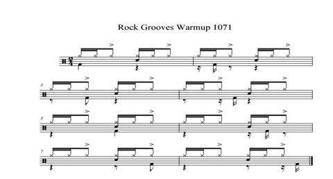 Rock Groove Warm-Up