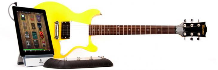 Suonare la chitarra elettrica in casa