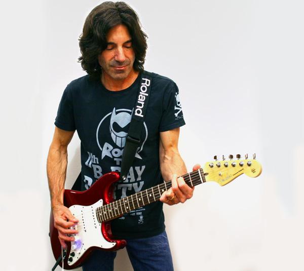 Clinic e demo V-Guitar con Stef Burns
