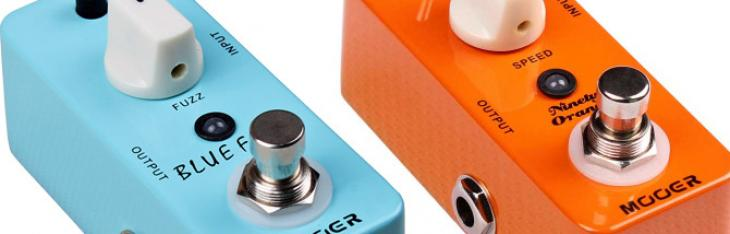 Mooer Blue Faze e Ninety Orange