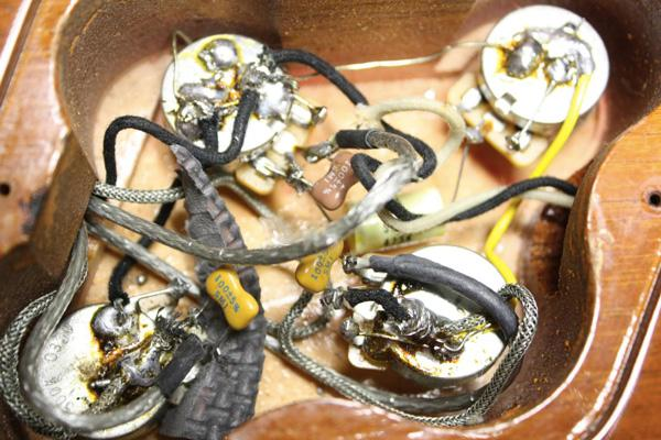 Nuovo wiring, pickup sbilanciati