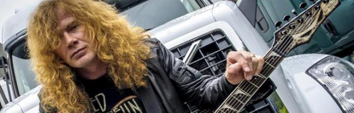 Dave Mustaine passa a Cleartone