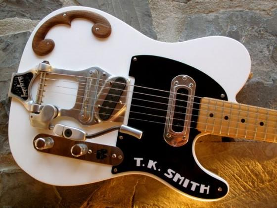TK Smith e lo stile Bigsby