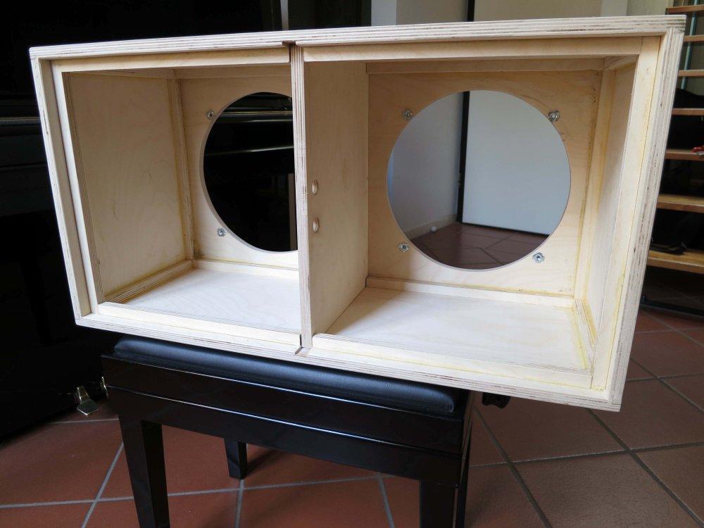 Cabinet 2x12 casalingo dal sapore vintage