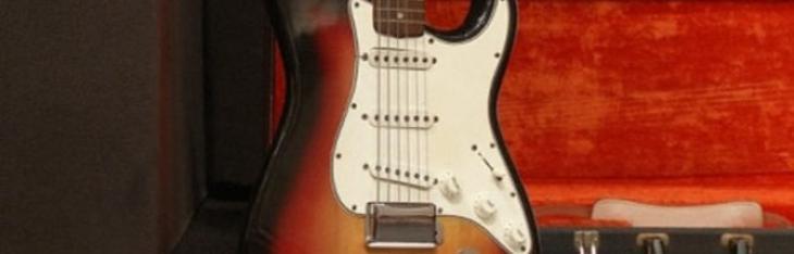 Bob Dylan: una Fender da record