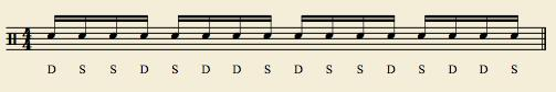 """Linear - """"Reverse Paradiddle Groove"""""""