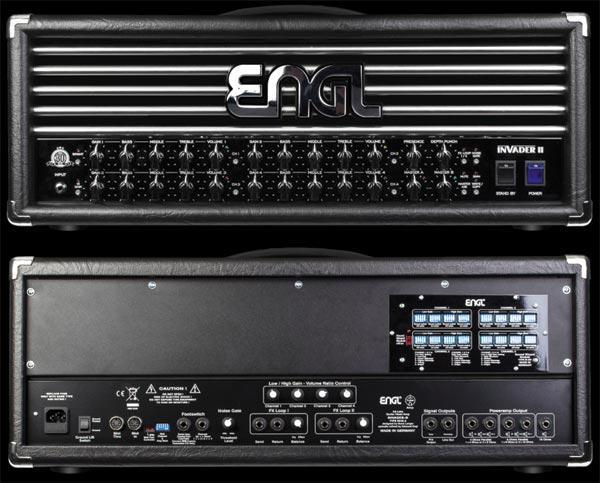 ENGL Invader II: quattro canali per 16 suoni