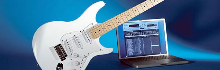 Suonare la chitarra col computer