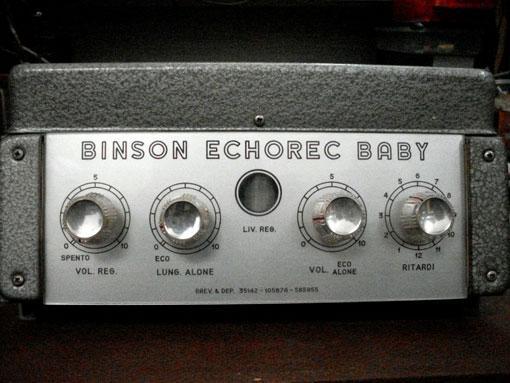 Dentro e fuori il mito Binson Echorec 2