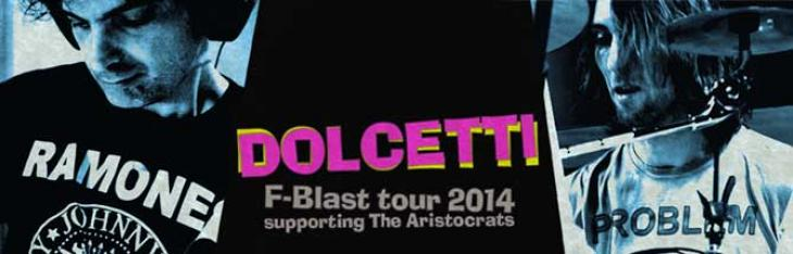 Dolcetti in tour con The Aristocrats