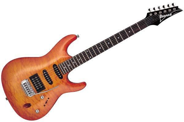Ibanez SA160 QM: una chitarra da tenere