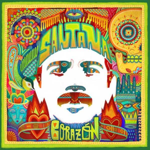 Corazon: pronto il nuovo disco di Carlos Santana