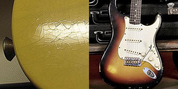 Le vernici della Stratocaster