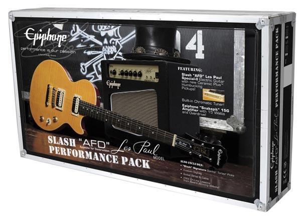 Due pacchetti dedicati a Slash da Epiphone