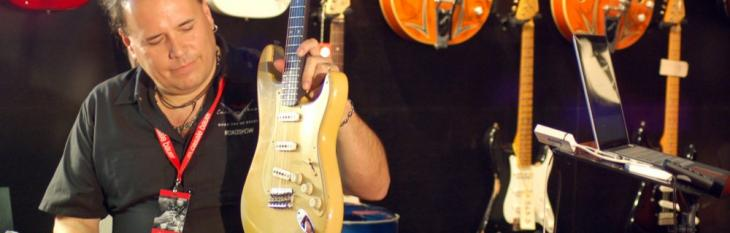 John Cruz: master builder guitar lover