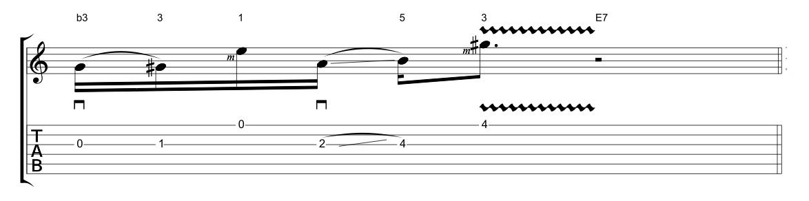 Luca Colombo: un lick in hybrid picking