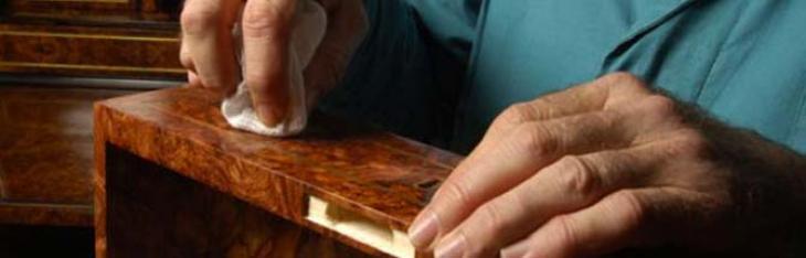 Verniciatura per dilettanti: la finitura alla gommalacca