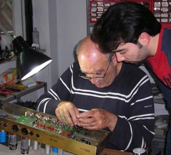 Restauro Marshall JCM 800 1987: l'elettronica