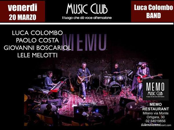 Luca Colombo torna al Memo