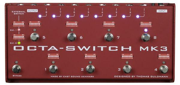 Carl Martin Octa-Switch arriva alla MK3
